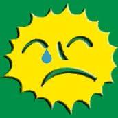 Il sole che non fa ridere
